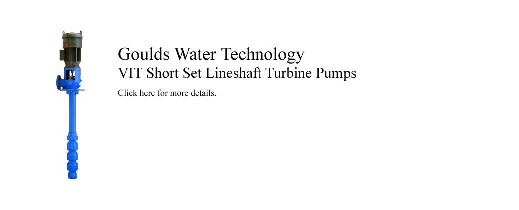 Gould VIT Turbine Pumps